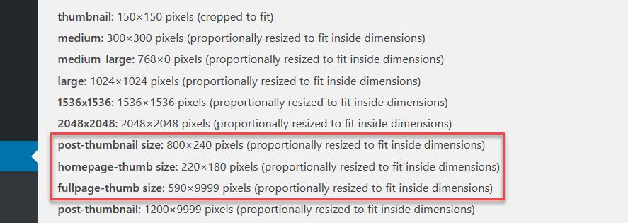 add custom image sizes in wordpress - add custom image sizes