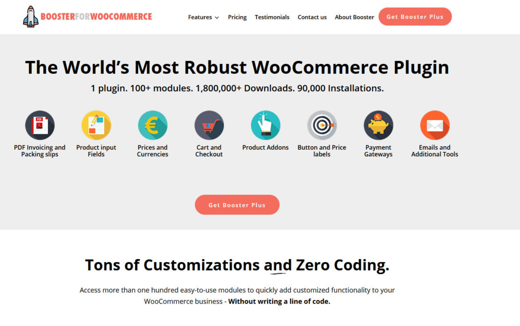 customize my account page woocommerce - booster for woocommerce