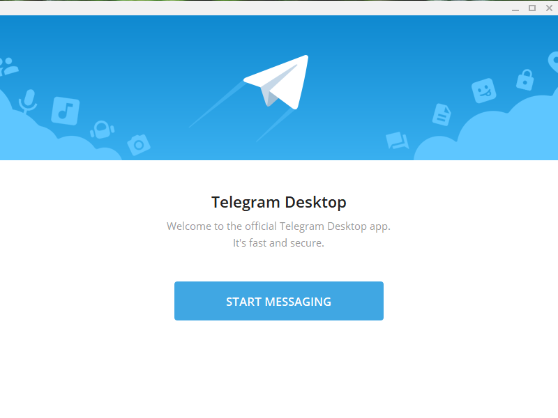 Add Telegram to WordPress - Starting Telegram