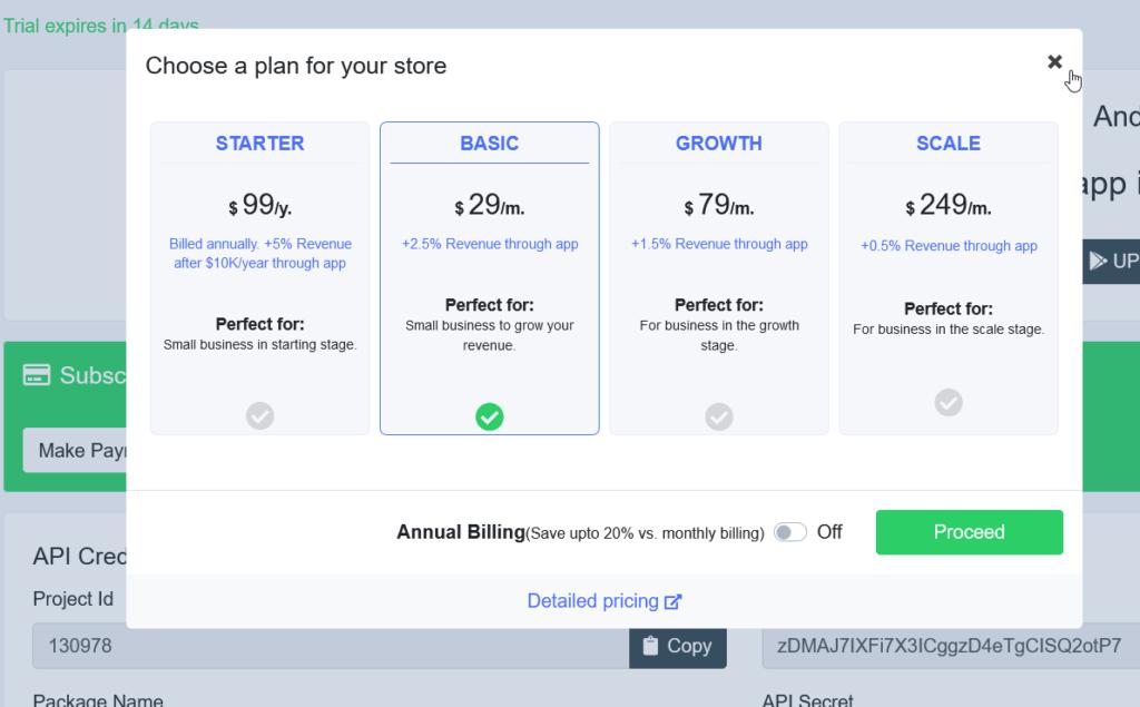 appmaker premium pricing
