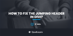 fix jumping header in divi