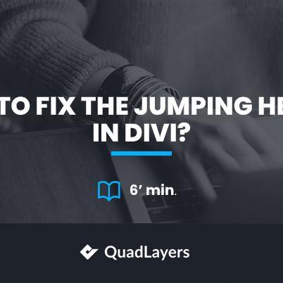 fix jumping header in divi