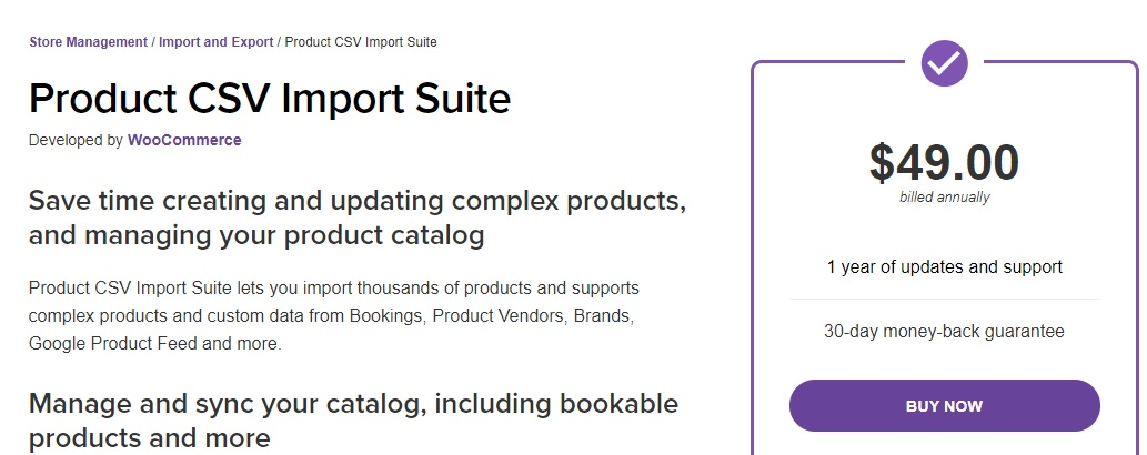 product csv import suite export woocommerce products