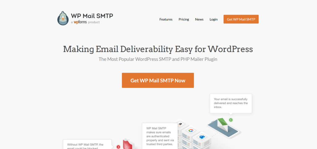 best SMTP plugins - wp mail smtp