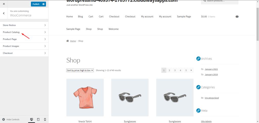 WooCommerce Product Catalog