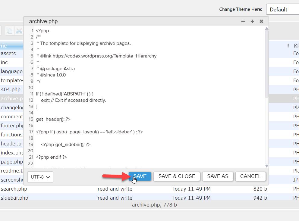 How to edit HTML in WordPress - Code editor