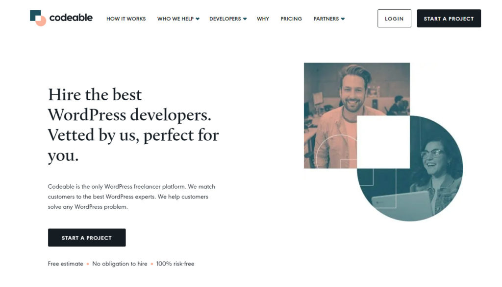 find wordpress developer - codeable