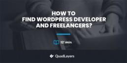 find wordpress developer - featured image