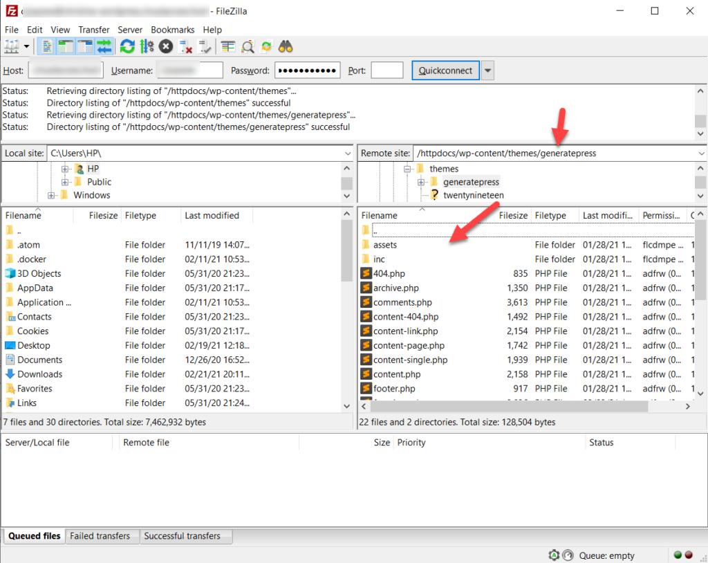 generatepress theme files