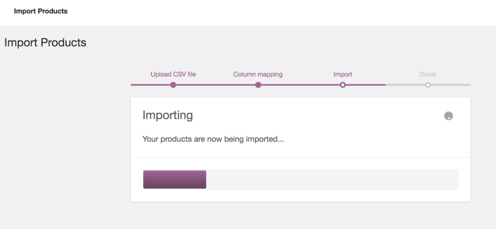 import products in WooCommerce