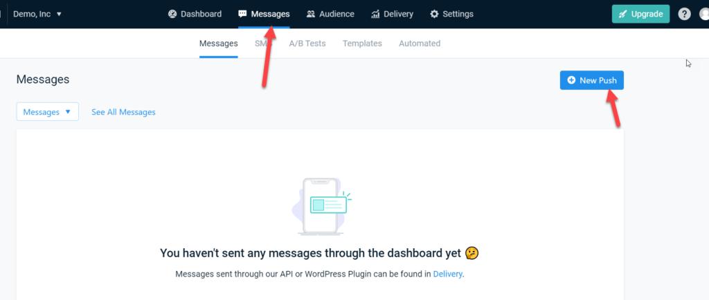 new push notification