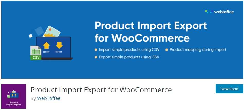 Best WooCommerce Plugins to Export Products - Product Import Export for WC