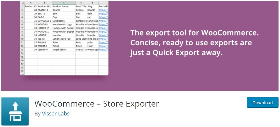 Best WooCommerce Plugins to Export Products - Store Exporter