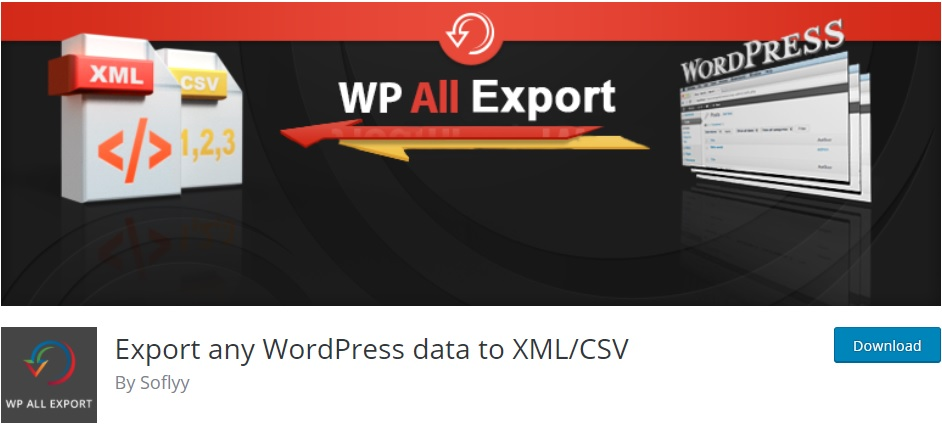 Best WooCommerce Plugins to Export Products - WP All Export