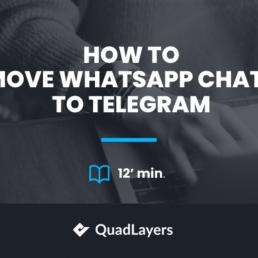 How to Move WhatsApp Chats to Telegram