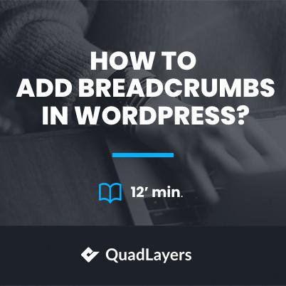 add breadcrumbs in wordpress - featured image