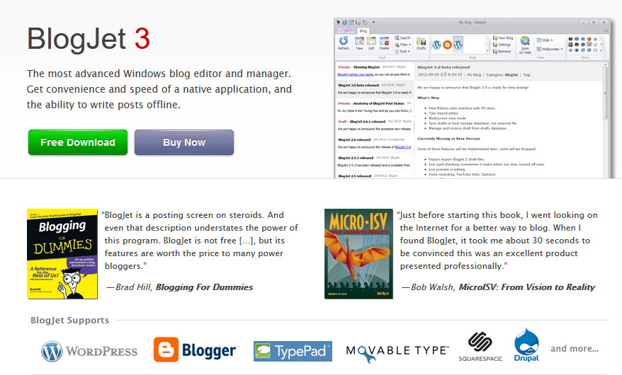 edit wordpress offline - blogjet