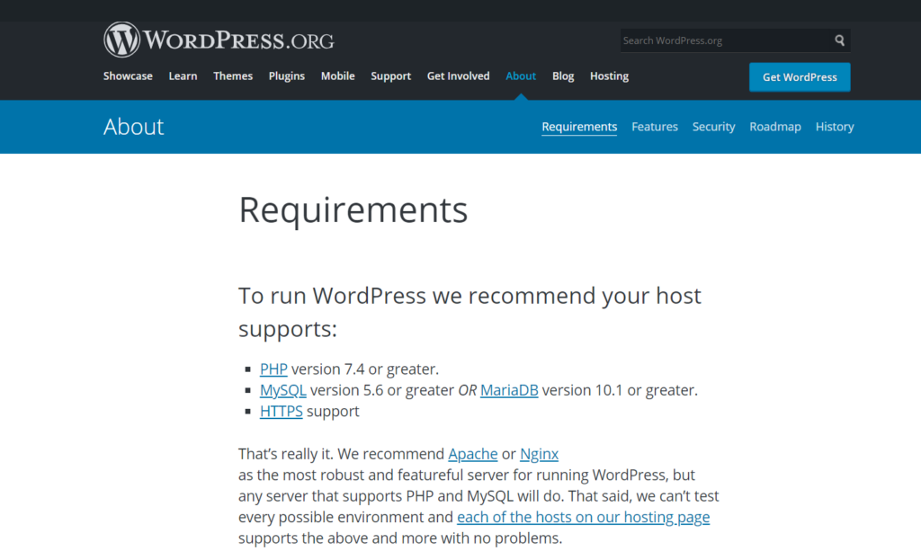 fix the link you followed has expired error in wordpress - wordpress minimum server requirements