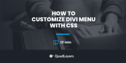 How to customize Divi menu with CSS