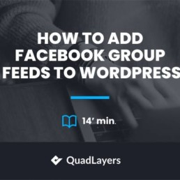 add facebook group feeds