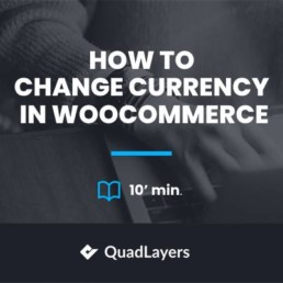 change currency in woocommerce