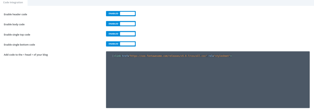 Including Font Awesome to Divi templates