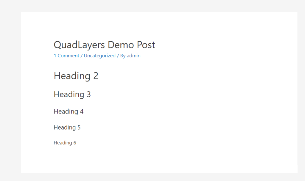 quadlayers demo post