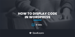 How to Display Code in WordPress