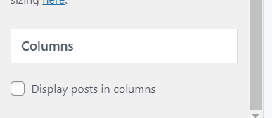 generatepress column