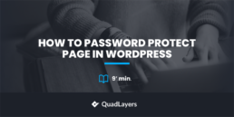 How to Password Protect Page in WordPress