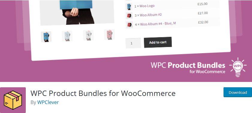 product bundles in WooCommerce - WPC Product Bundles