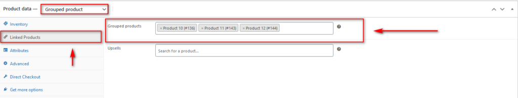 product bundles in WooCommerce - creating grouped product