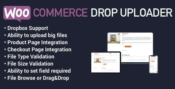 WooCommerce Drop Uploader