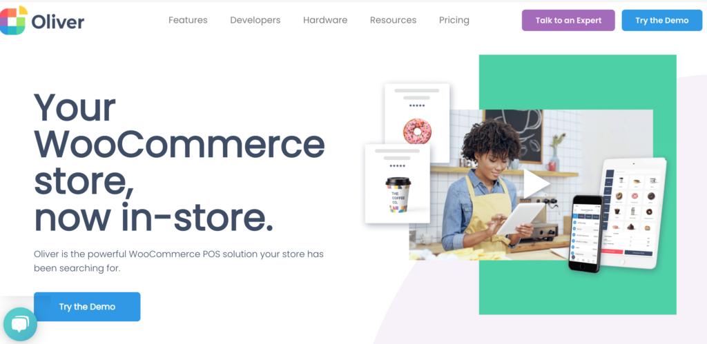 Best WooCommerce POS plugins - Oliver POS