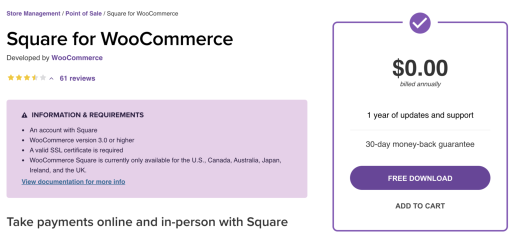 Best WooCommerce POS plugins - Square