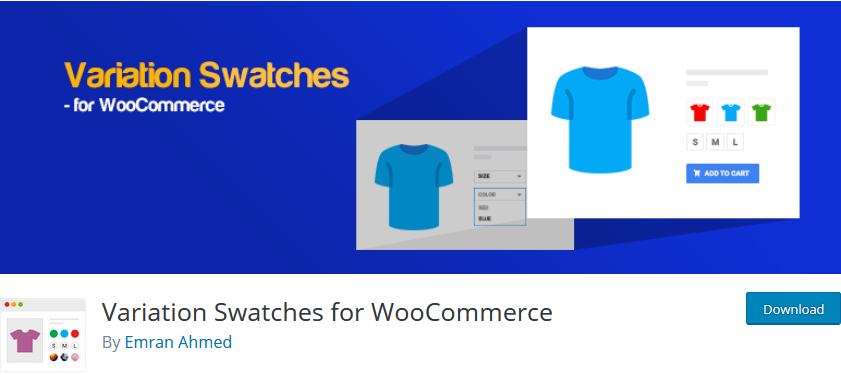 add product variations in woocommerce - variation swatches for woocommerce