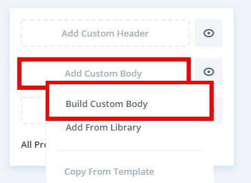 build custom body customize woocommerce category page