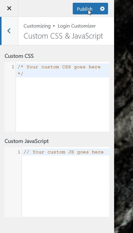 add css or javascript
