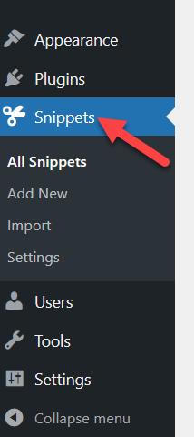 code snippet method