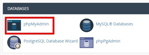 cpanel phpmyadmin change post type in wordpress