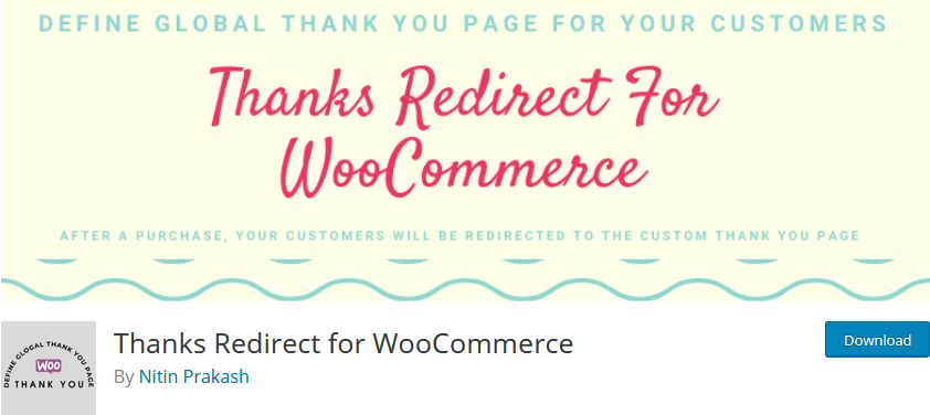 customize woocommerce thank you page -thanks redirect