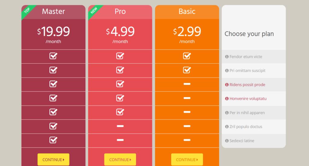 go pricing demo