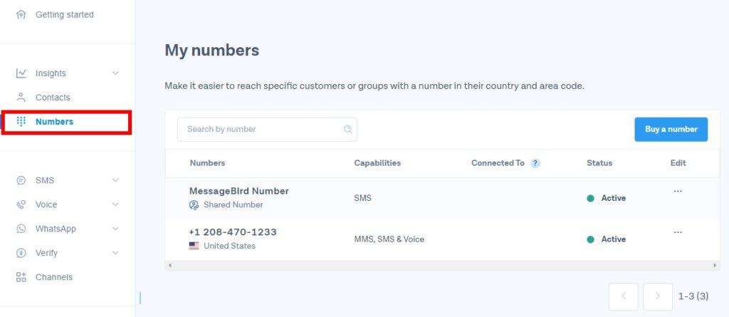 messagebird new virtual number whatsapp virtual number