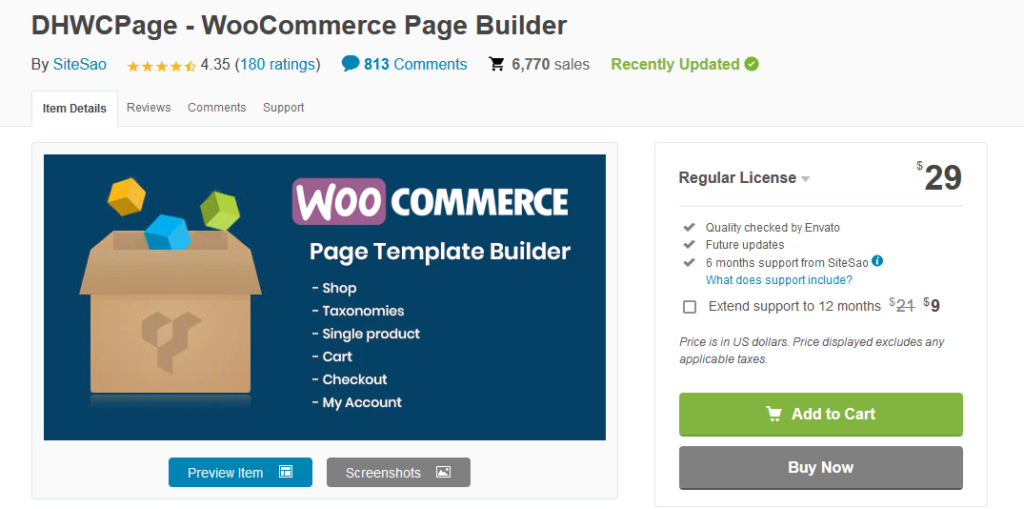 plugins to customize woocommerce product page - dhwcpage