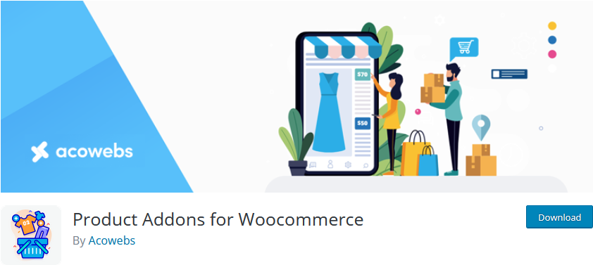 plugins to customize woocommerce product page - product addons