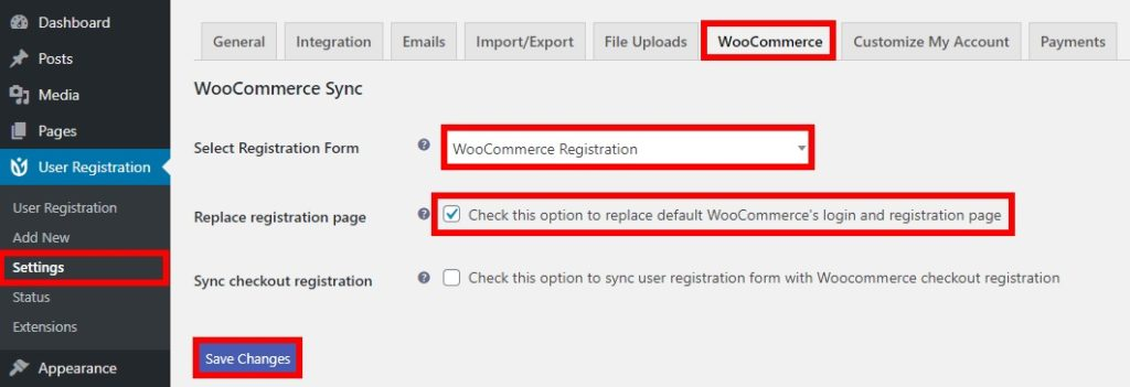 replace woocommerce registration form customize woocommerce registration form