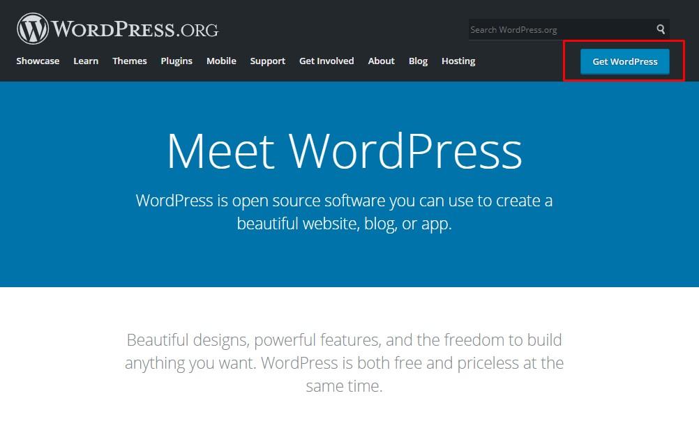 How to Fix WordPress White Screen of Death (WSOD) - Download fresh copy of WordPress