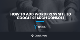 add a wordpress website to gsc