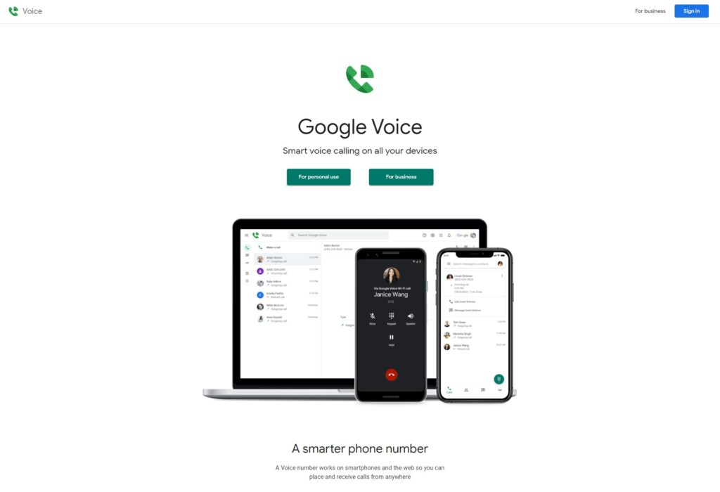 google voice best virtual phone number apps