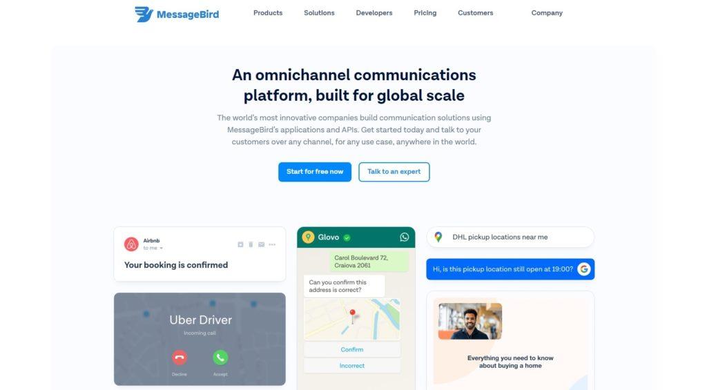 messagebird best virtual phone number apps